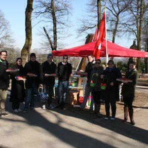 Ostereiersuche der Jusos im Stadtpark