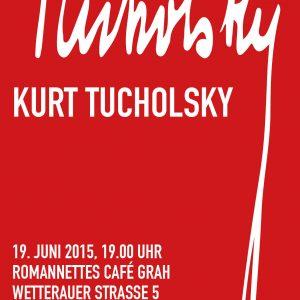 Die Remscheider SPD lädt am 19.06. um 19:00 Uhr ins Café Grah in der Altstadt in Lennep. Joe Faß liest Kurt Tucholsky.
