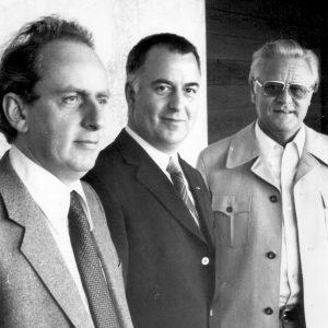 Robert Schumacher, Willi Hartkopf und Karl-Manfred Halbach - drei prägende Persönlichkeiten der Remscheider SPD.