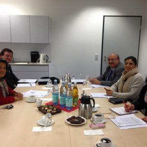 1. Sitzung der AG Migration & Vielfalt der Remscheider SPD: große Runde.