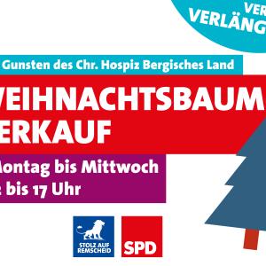 Weihnachtsbaumverkauf 2015 bis Mittwoch verlängert.