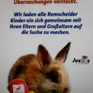 Der SPD-Nachwuchs Jusos lädt am Ostersonntag um 11:00 Uhr zur Ostereiersuche in den Stadtpark am Schützenplatz ein.
