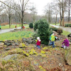 Ostereiersuche 2016 im Remscheider Stadtpark