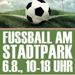 Plakat zum Stadtpark-Pokal 2016
