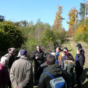 Herbstwanderung des OV Lennep durch das Kleebachtal am 23.10.2016