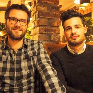 Das Foto zeigt links Christian Günther und rechts Metin Kaynak. Fotograf: Volker Blum