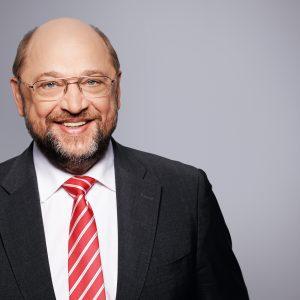 Pressefoto des Parteivorsitzenden und Kanzlerkandidaten der SPD, Martin Schulz.