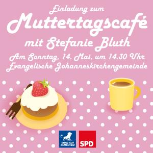 Einladung zum Muttertagscafé 2017 des SPD-Ortsvereins Remscheid-Süd
