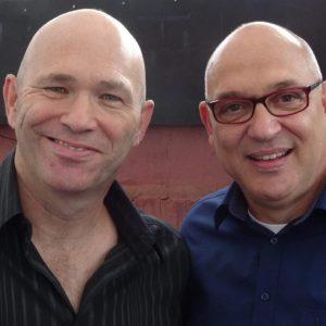 Im Bild: der unglaubliche Heinz (links) und Ingo Schäfer.
