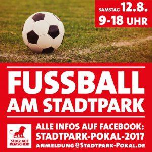 Plakat zum Stadtpark-Pokal 2017