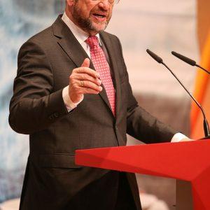 Martin Schulz im Mai 2017 im Vaßbendersaal