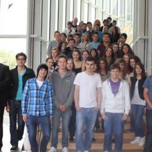 Schüler des Berufskolleg Wirtschaft und Verwaltung besuchten am 24. Juni 2011 den Landtag.