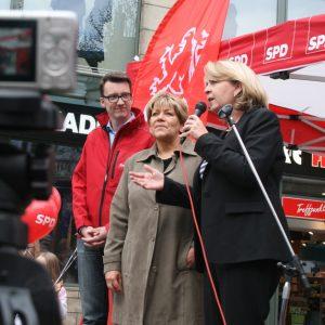 Hannelore Kraft in Remscheid