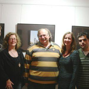 Die Ratskandidaten des OV Süd zur KW 2014: V. l. n. r.: Michael Büddicker, Ilona Kunze-Sill, Thomas Kase, Stefanie Bluth & Antonio Scarpino.