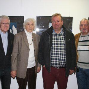Kandidaten für die BV Süd zur KW 2014: V.l.n.r.: Hans-Gerd Steinheuser, Elfriede Kordd, Stefan Grote & Josef Peter Hilger.