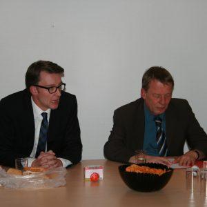 Sven Wolf und Burkhard Mast-Weisz