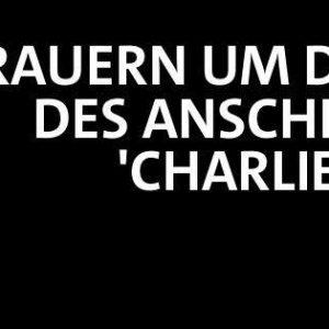Wir trauern um die Opfer des Anschlags auf Charlie Hebdo