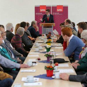 Gut besucht war der Neujahrsempfang der Remscheider SPD am 11.01.2015.