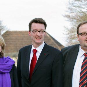 Sven Wolf, Sven Wiertz, Hannelore Kraft