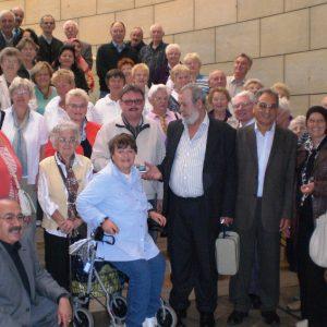 AWO-Gruppe besuchte Wolf im Landtag.