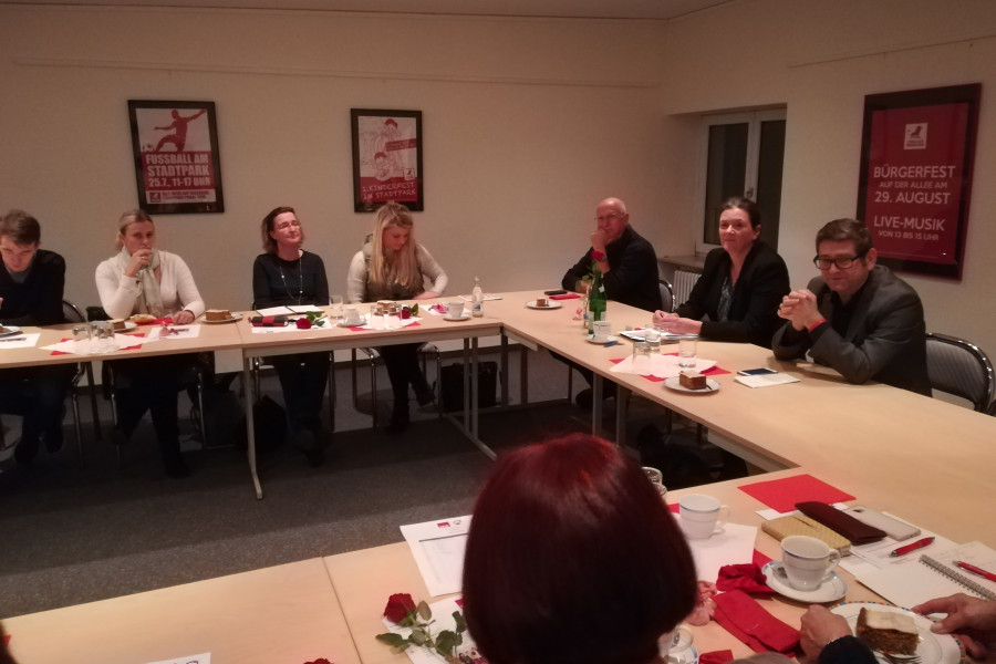 AsF-Versammlung zu Pflege mit Josef Neumann am 20.11.2018