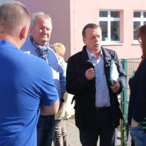 OB Mast-Weisz beim Nachbarschaftsgespräch am Hohenhagen am 26.02.2019