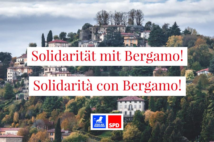 Solidarität mit Bergamo!