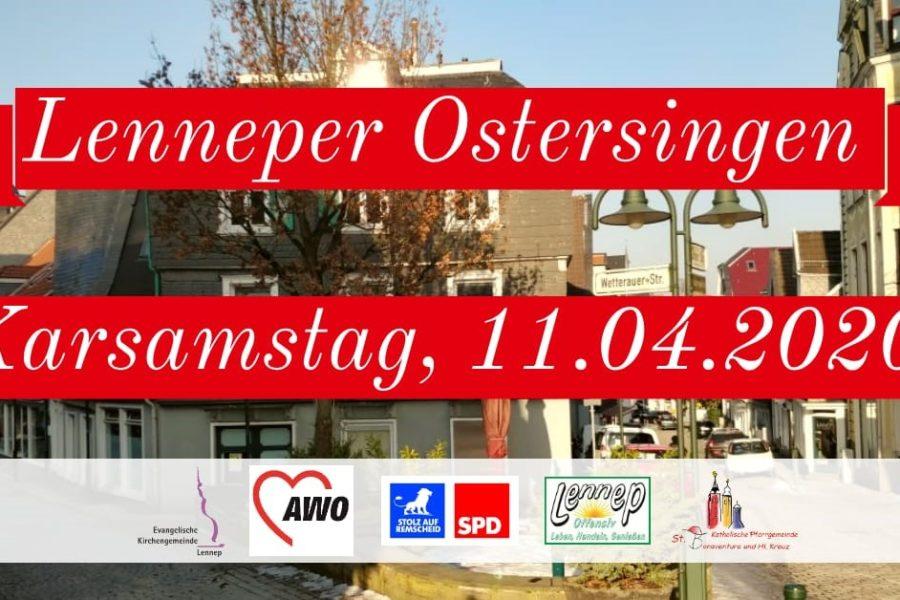 Lenneper Ostersingen 2020
